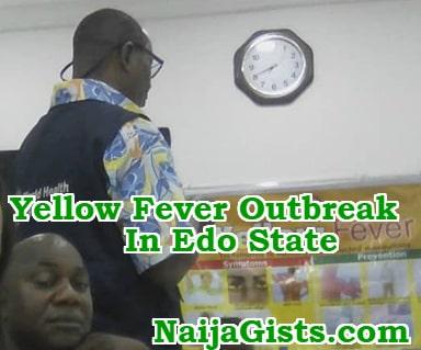 yellow fever outbreak edo state