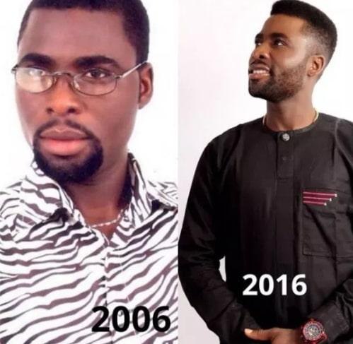 10 year challenge nigerian celebrities