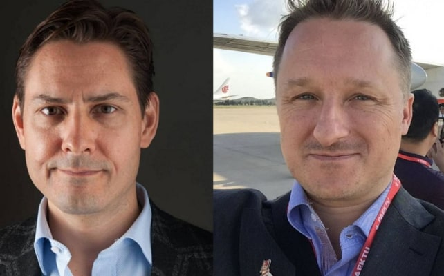2 canadians detained china