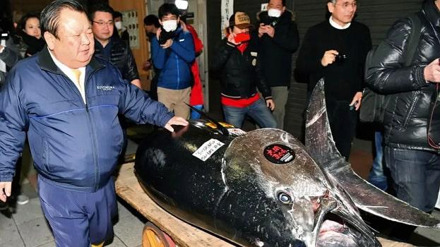 Kiyoshi Kimura $3million tuna