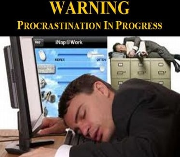 anti procrastination quotes