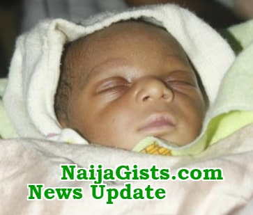 baby rescued child trafficker lagos airport