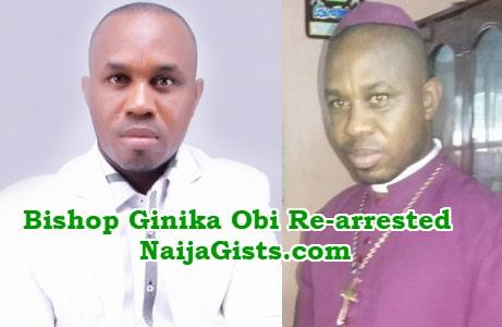 bishop ginika obi arrested fraud