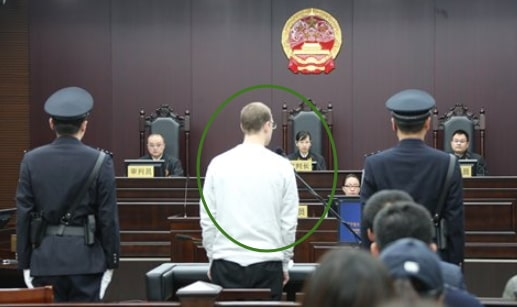 canadian sentenced death china monday