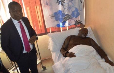 dino melaye hospital bed