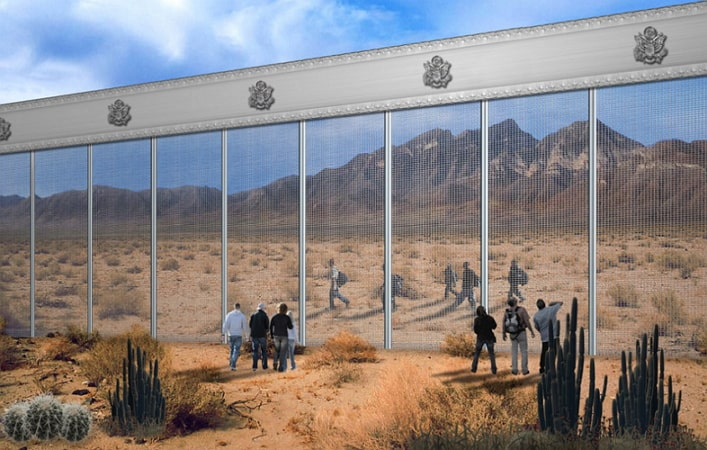 donald trump border wall new world order