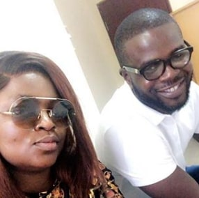 funke akindele post twins child birth photos