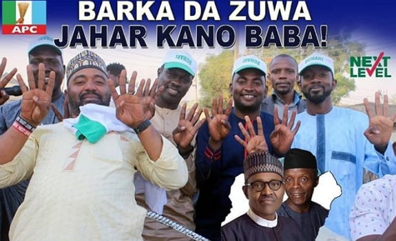 hausa actor joins buhari reelection