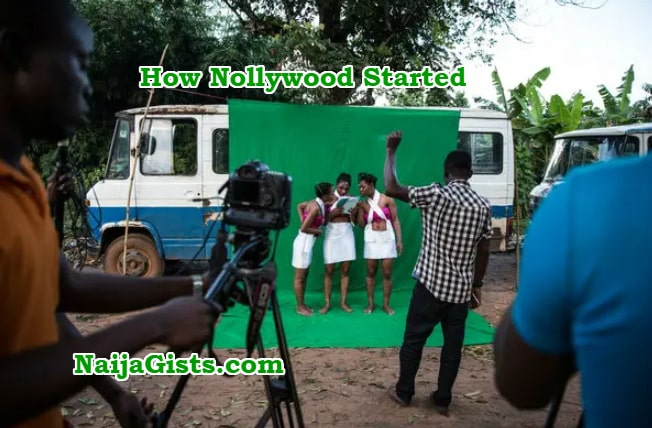 how nollywood started