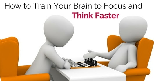 how to train brain think faster