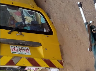 ijebu ode benin fatal accident photos