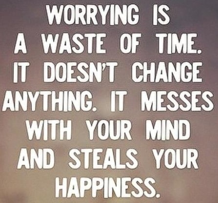 inspirational don't worry quotes