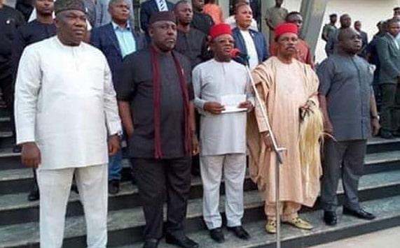 ipob kidnap 5 igbo governors