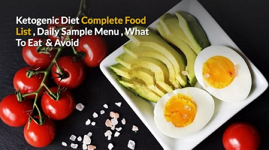 ketogenic diet complete food list what to eat avoid