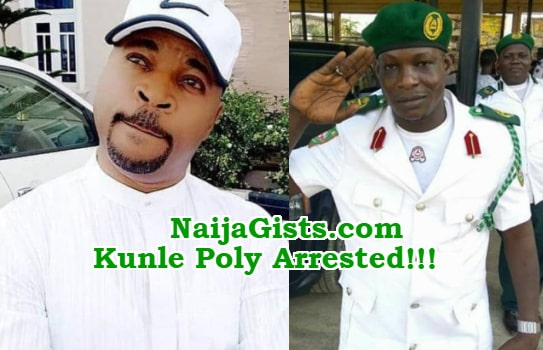 kunle poly arrested stabbing oluomo