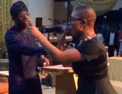 lady attacked sanwo olu campaign event
