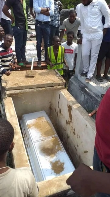 lagos dj buried after taking own life