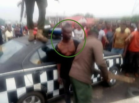 mad man kills girlfriend owerri market
