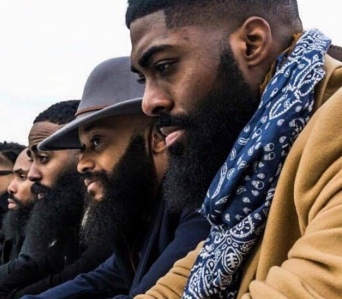 nigerian men growing beards facial hair