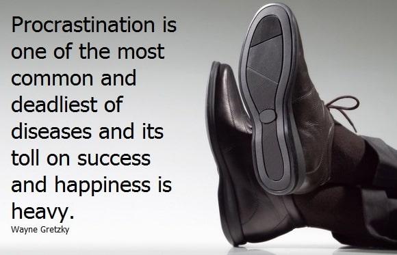 procrastination quotes images