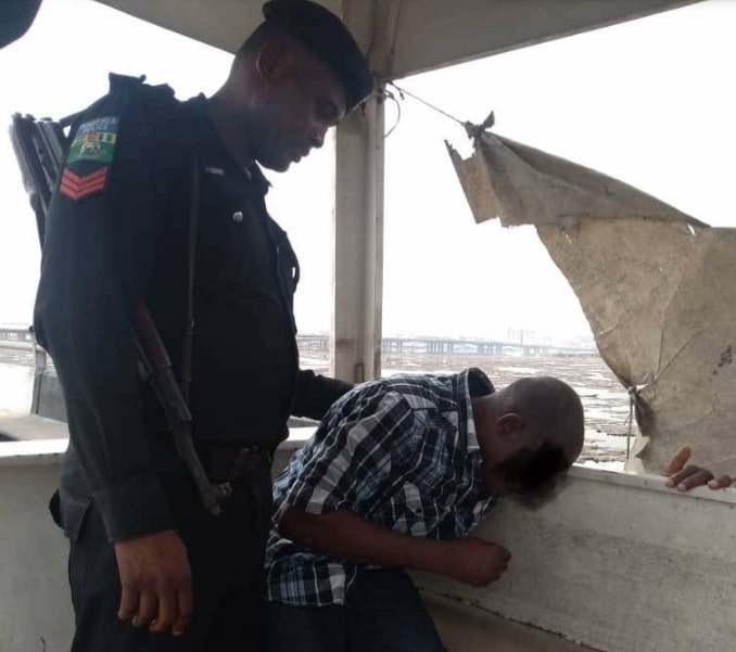 suicidal nigerian man