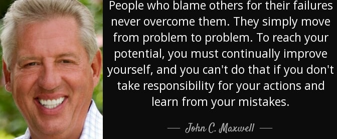 take responsibility for your actions quotes