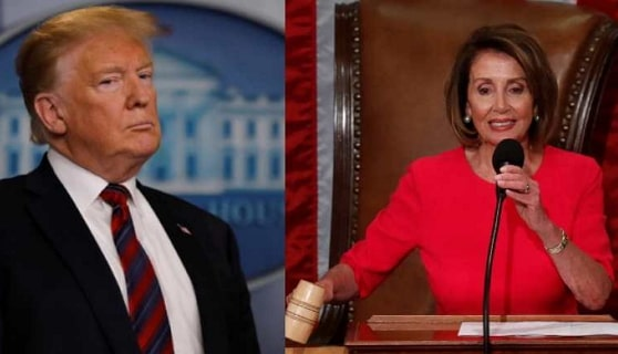 trump calls pelosi radical democrat