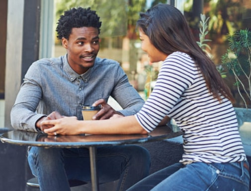 what to talk about on a first date with someone you met online