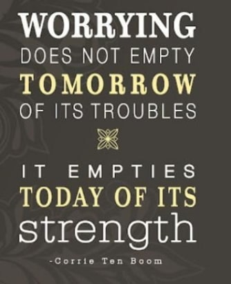 worry future tomorrow quotes