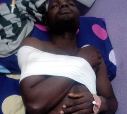 INEC officer stoned political thugs lagos
