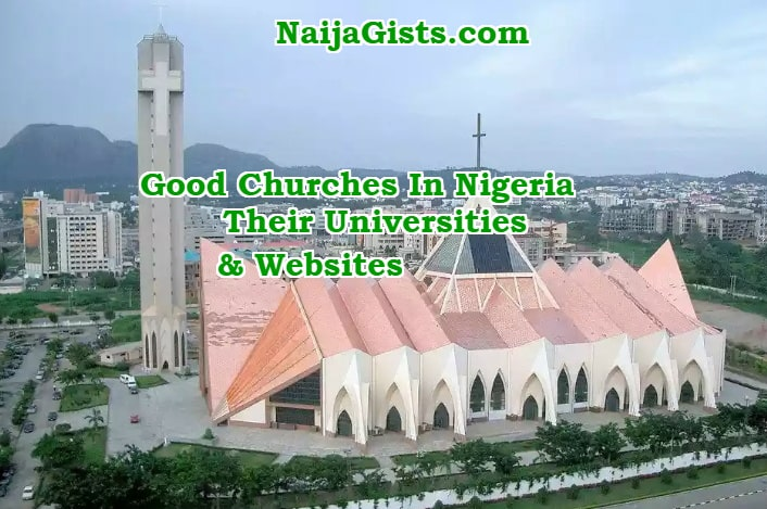 churches in nigeria founders universities websites
