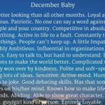 December Born Baby Facts & Personality Traits: Amazing Qualities Of People Born In December