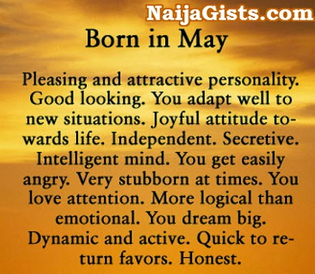 facts about babies born in may