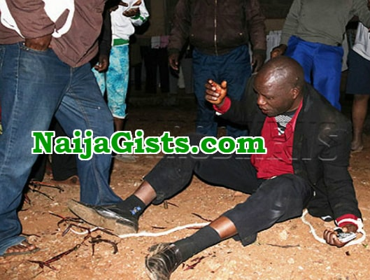 fake prophet beaten husband church member