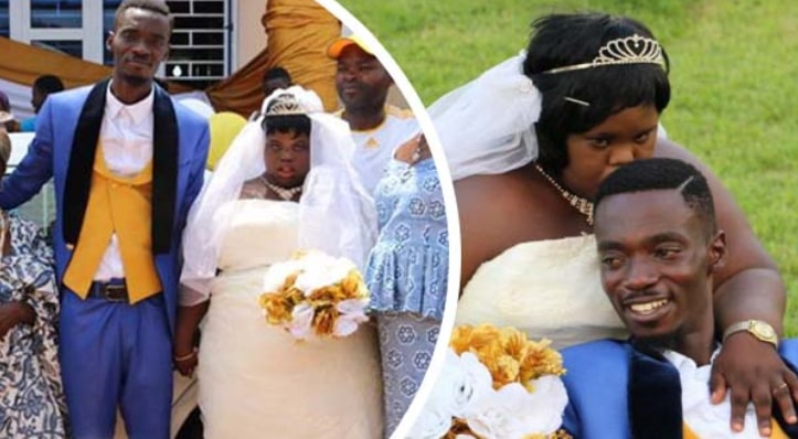 ghanaian actor marries woman down syndrome video
