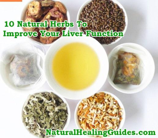 herbs liver detox