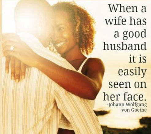 how to be a good husband to your wife