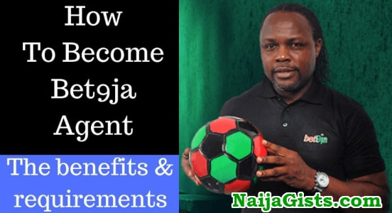how to become bet9ja agent nigeria