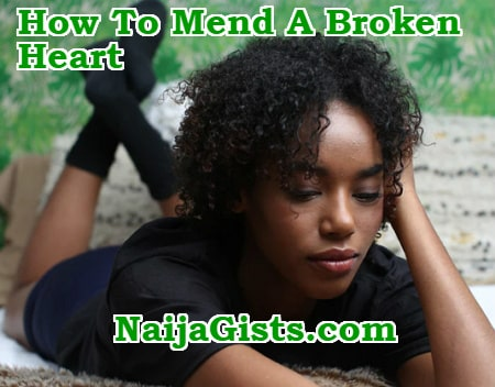 how to fix mend broken heart