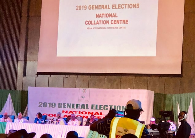 inec postpones collation results