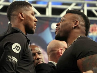 jarrell miller attacks joshua