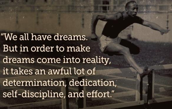 jesse owens quotes success