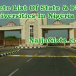 List Of State & Federal Universities In Nigeria: Courses They Offer, School Fees & Cut Off Marks