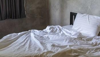 man dies sleeping married woman