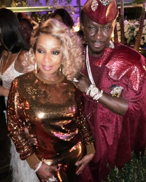 mary j blige dating nana kwame