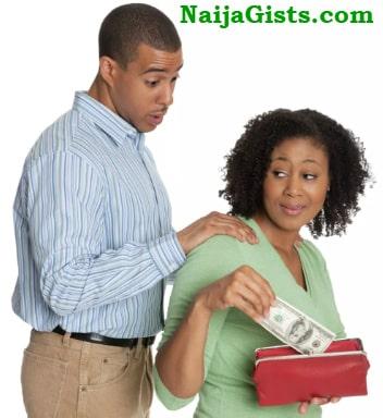nigerian boyfriend man asking money