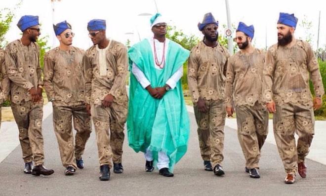 nigerian wedding aso ebi