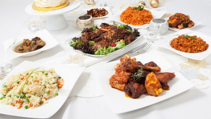nigerian wedding menu