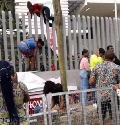 nigerians scale fence bbnaija audition locations
