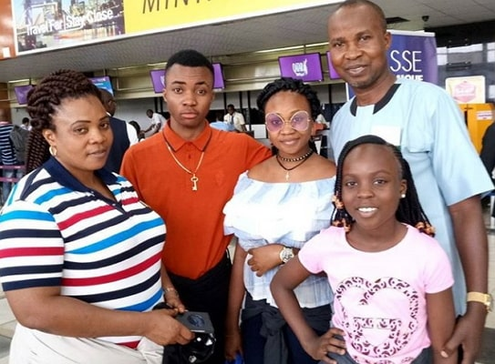 okunnu relocates wife kids canada